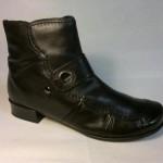 Remonte - kotníčková lehce zateplená botka se zapínáním na zip
