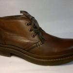 Manitu - elegantní, hnědá, zatepelná bota na tkaničku