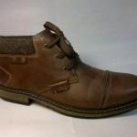 Rieker - teplá, pohodlná bota na tkaničku
